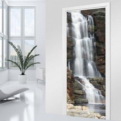 Türtapete Wasserfall