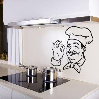 Vinilo decorativo Chef de cocina