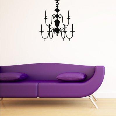 Vinilo decorativo lámparas