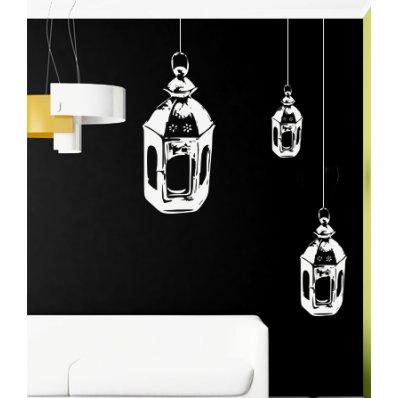 Vinilo decorativo linterna