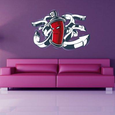 Vinilo decorativo pintura spray
