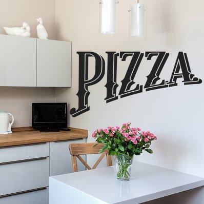 Vinilo decorativo pizza