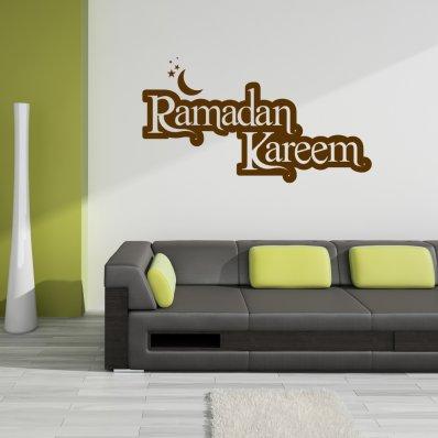Vinilo decorativo ramadan