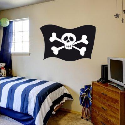 Vinilo infantil bandera