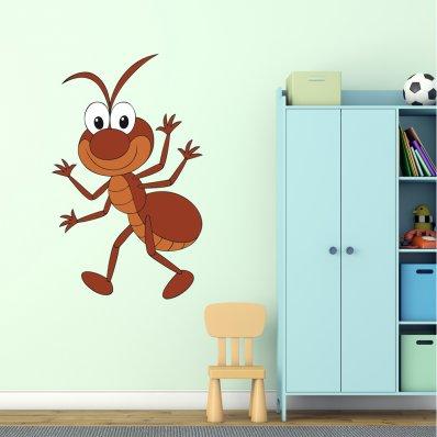 Vinilo infantil hormiga