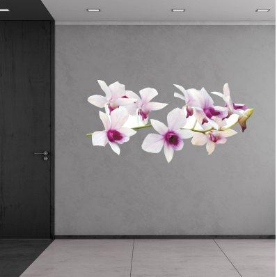 Vinilo infantil orquídea