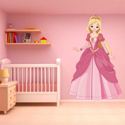 Vinilo infantil princesa