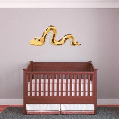 Vinilo infantil serpiente