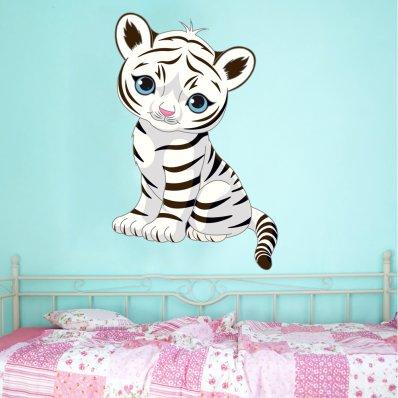 Vinilo infantil tigre