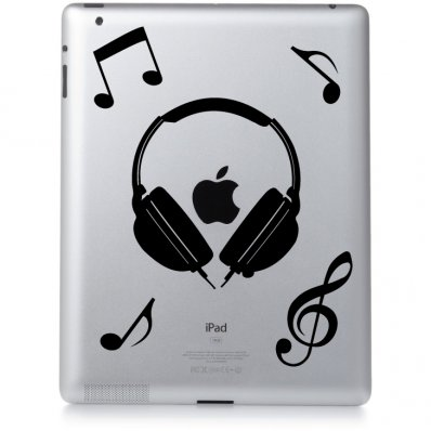 Vinilo para Ipad 2 música