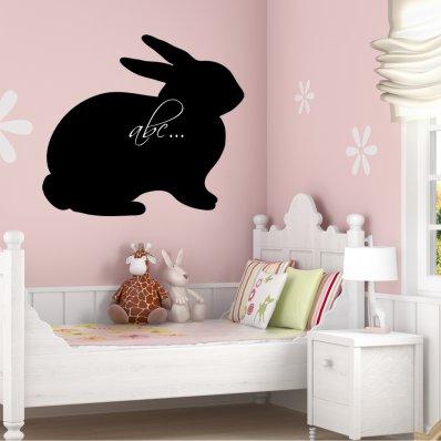 Vinilo Pizarra conejo