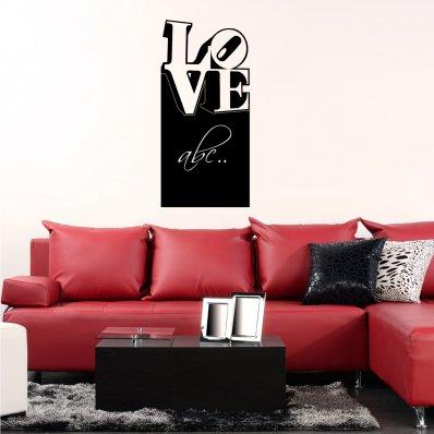 Vinilo Pizarra Love