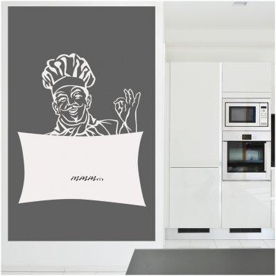 Vinilo Vileda chef cocinero