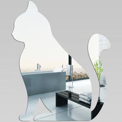 Wandspiegel aus Acrylglas Katze