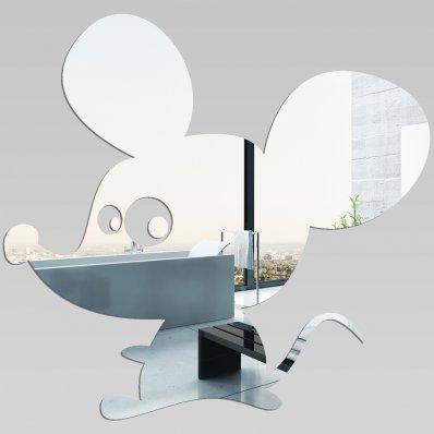 Wandspiegel aus Acrylglas Maus