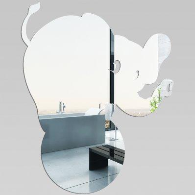 Wandspiegel aus Acrylglas Zirkus-Elefant