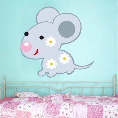 Wandsticker Maus