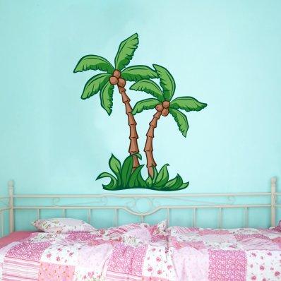 Wandtattoos folies wandsticker palme for Wandsticker jungs