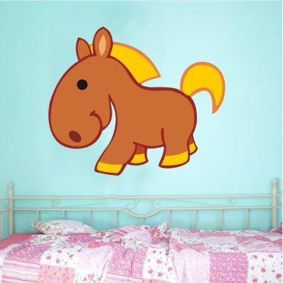 Wandsticker Pony