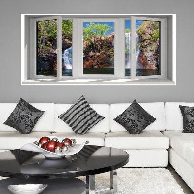 Wandtattoo Fototapete Fenster