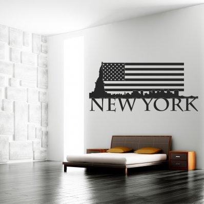 Wandtattoo New York