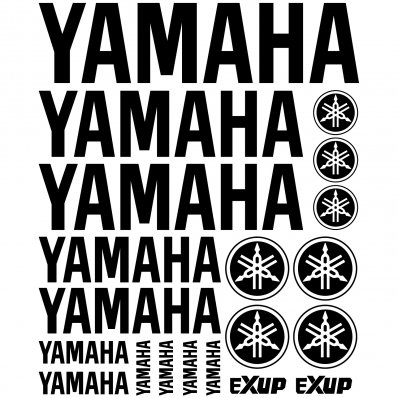 Yamaha Decal Stickers kit