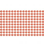 160 Strass adesivo Borgonha