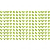160 Strass Stickers verde