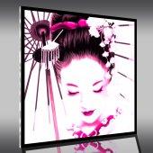 Acrylglasbild Geisha