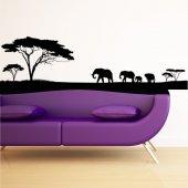 Adesivo Murale Africa