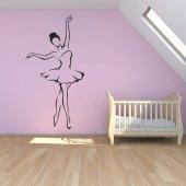 Adesivo Murale ballerina