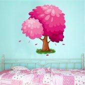 Adesivo Murale bambino albero
