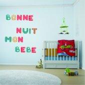 Adesivo Murale bambino alfabeto
