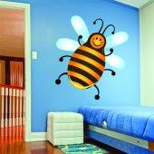 Adesivo Murale bambino ape