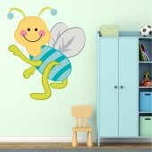 Adesivo Murale bambino insetto