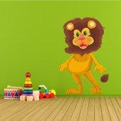 Adesivo Murale bambino leone