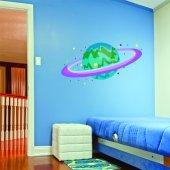 Adesivo Murale bambino pianeta