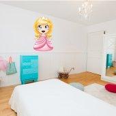 Adesivo Murale bambino principessa