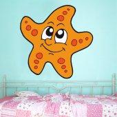 Adesivo Murale bambino stella marina