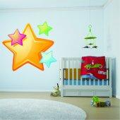 Adesivo Murale bambino stelle