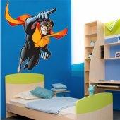 Adesivo Murale bambino supereroe