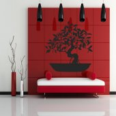 Adesivo Murale Bonsai