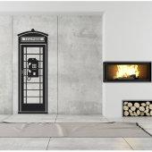 Adesivo Murale cabina telefonica