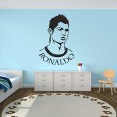 Adesivo Murale cristiano ronaldo