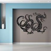 Adesivo Murale drago