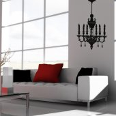 Adesivo Murale lampadario