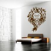 Adesivo Murale leone