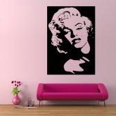 Adesivo Murale Marilyn Monroe