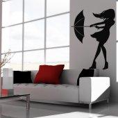 Adesivo Murale ombrello