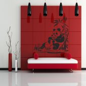 Adesivo Murale panda